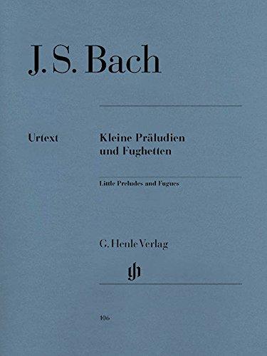Petits Préludes et Fugues - Piano par Johann Sebastian Bach