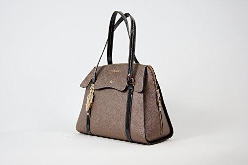 Tasche Damentasche Abendtasche Luxus Taymir Uni 2 Jahre Garantie versch. Farben Gold-Schwarz