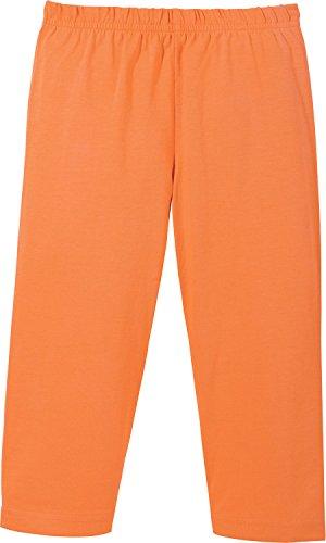 140 Single (Kinderbutt Capri-Leggings Single-Jersey orange Größe 134 / 140)