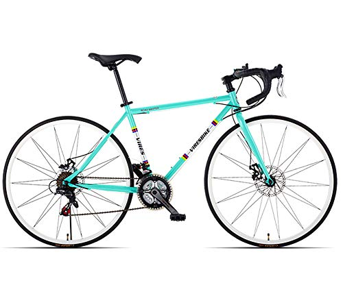 GPAN 26 Pulgadas Bikes Bicicleta de Carretera,24 Velocidades,Doble Freno Disco,85% ensamblado,Deportes...