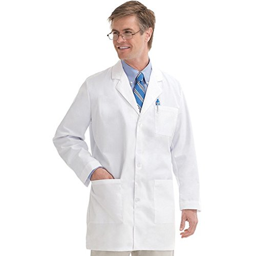 Primesurgicals Doctor'S Apron Denim Lab Coat Unisex- Size (S-36)