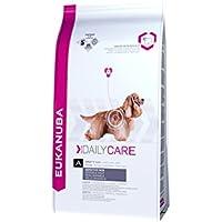 Eukanuba Daily Care, Hundefutter für Hunde mit sensibler Haut, Trockenfutter mit Fisch und Huhn (1 x 12 kg)