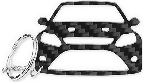 Ford Focus MK 2 RS ST | Carbon tuning Schlüsselanhänger | Accessoires – Schlüsselhülle - Zubehör