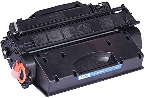 YXZQ Tonerkartusche, kompatibel mit CF280A 80A HP 80A Tonerkartusche, geeignet für HP Laserjet Pro 400 M401a / d/n/DN/dw / M425dn-Drucker, preiswert, schwarz