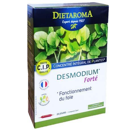 Dietaroma Desmodium Foie Haute Concentration 20x10 ml