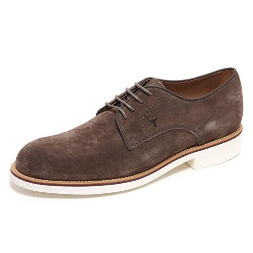 B6050 scarpa classica uomo TOD S DERBY scarpe marrone chiaro shoe man 39a8570d6e4