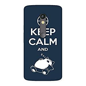 Special Keep Sleep Multicolor Back Case Cover for Moto X Play