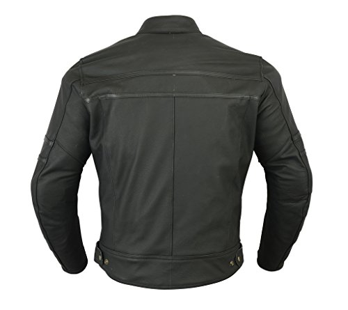 Texpeed Two Tone Leather Racing Jacket - 3