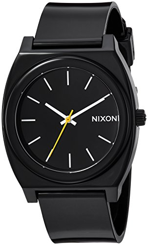Nixon Women's A119000 Time Teller P Analog Display Japanese Quartz Black Watch