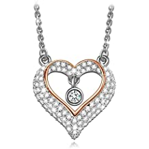 """Lady colour - Amor Cinta - Collar mujer con cristales de Swarovski - la coleccion """"A Little Romance"""""""
