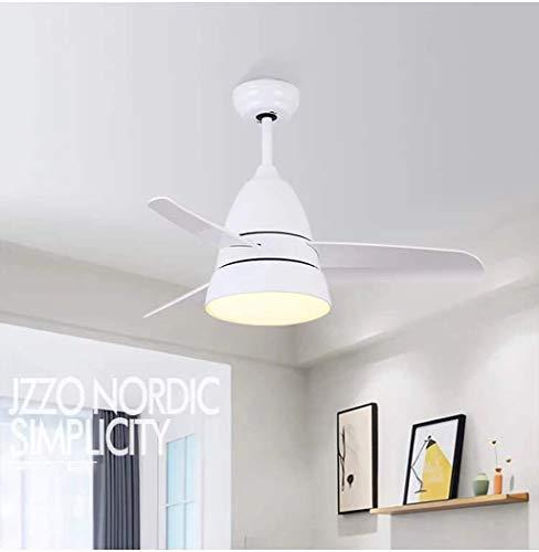 Ventilador de estilo europeo Lámpara de techo Lámpara de montaje semi empotrado...
