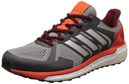 Adidas Supernova St M, Zapatos para Correr para Hombre, Multicolor (Midgre/Silvmt/Energy), 42 EU