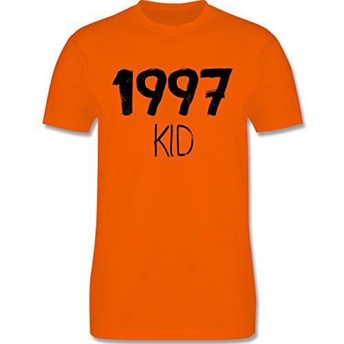 Geburtstag - 1997 KID - Herren Premium T-Shirt Orange