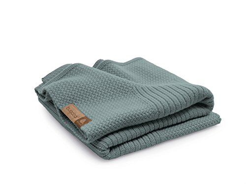 Bugaboo Soft Wool Blanket Petrol Blue