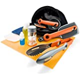 GSI Outdoors Crossover Kitchen Kit Camping and Backpacking Integrated Cooksets