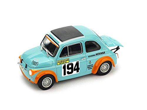 FIAT 595 SS ABARTH N.194 PIEVE S.STEFANO-P.SO D.SPINO 1971 V.GATTAFONI Brumm Auto Competizione modello modellino die cast