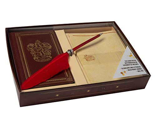 Harry Potter: Gryffindor Desktop Stationery Set (With Pen) (Harry Potter Stationery)