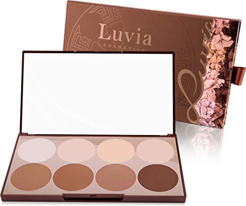 Luvia Contouring Palette - Prime Contour Mit Extra Leicht Verblendbarem Setting Powder, Bronzer, Kontur Puder Und Highlighter Make-Up Für Jeden Hauttyp - Liebenswertes Geschenk für Frauen