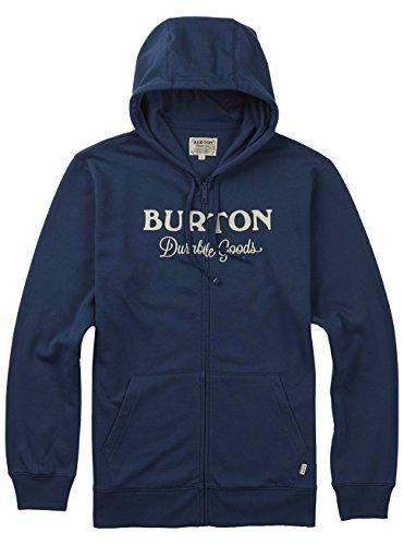 Burton Herren Durable Goods Fullzip Hoodie Indigo