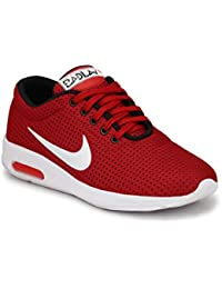 BADLAV Men Red Nky Casual Lace Up For Men Shoe