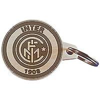 Portachiave Squadra INTER calcio porta chiavi logo in legno Gadget Idea regalo originale