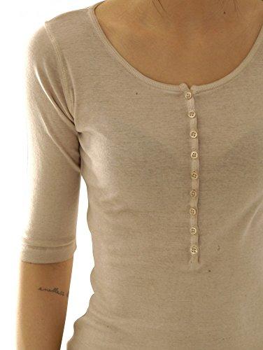 BLAUMAX Damen T-Shirt PARIS HS Pearl