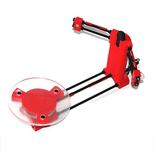 3d DIY Laser Scanner de bureau plate kit w/adaptateur d'objet pour imprimante Ciclop