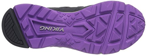 Viking Impulse GTX W Damen Trekking & Wanderhalbschuhe Grau (Charcoal/Violet 7721)