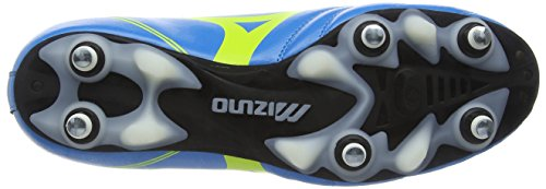 MizunoMorelia Neo Cl Mix, Scarpe da Calcio Uomo Blu (Diva Blue/Safety Yellow)