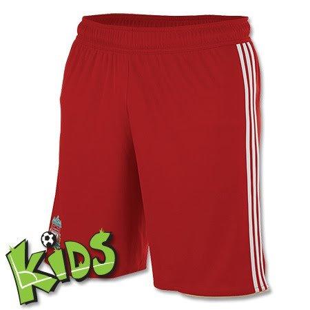 adidas FC Liverpool Kinder Short LFC rot Fussball Hose 152