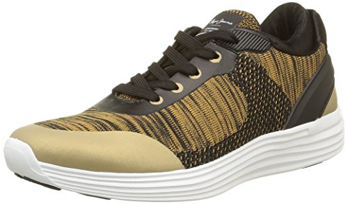 Pepe Jeans Damen Dakota Sneaker Gold - Or (099Gold)