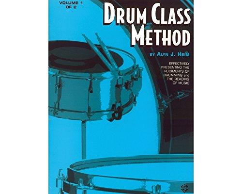 ALFRED PUBLISHING 00-el01335Drum Class Methode Volumen I–Music Book (Leistung Volumen)