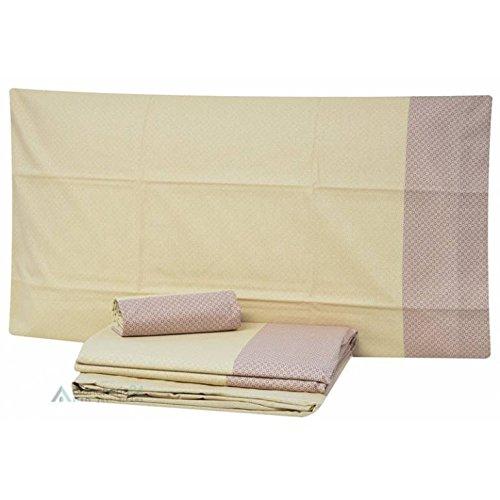 Bettwäsche-Set Zucchi Ava, komplett für ein Doppelbett Einheitsgröße beige