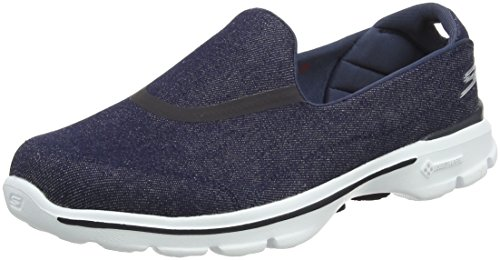 Skechers Gowalk 3 Women's Walking Shoes - Blue (Den), 8 UK (41...