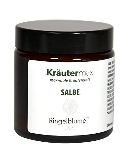 Ringelblume Salbe 100 ml • Hautbalsam mit Ringelblumenblütenöl, Ringelblumenblütenextrakt, Kamillenöl • MIT natürlichen Pflanzenextrakten