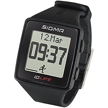 Sigma 24600 Reloj de Actividad, Unisex Adulto, Negro, Talla Única