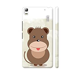Colorpur Lenovo K3 Note Cover - Little Baby Cartoon Animal Printed Back Case