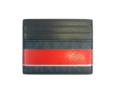 Michael Kors Jet Set Mens Stripe Holder Wallet Tall Card Case