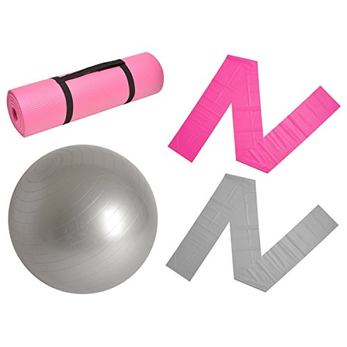 Kit Gym tapis ballon élasti-bandes