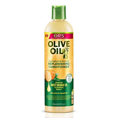 Après-shampoing pour cheveux ORS, huile d'olive organique pour stimuler la racine des cheveux 362 ml