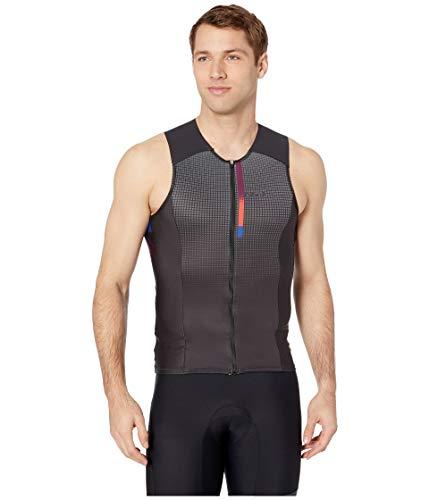 Louis Garneau Herren Triathlon-Oberteil Pro Carbon Comfort Quick Dry, ärmellos, Herren, POP, Small -