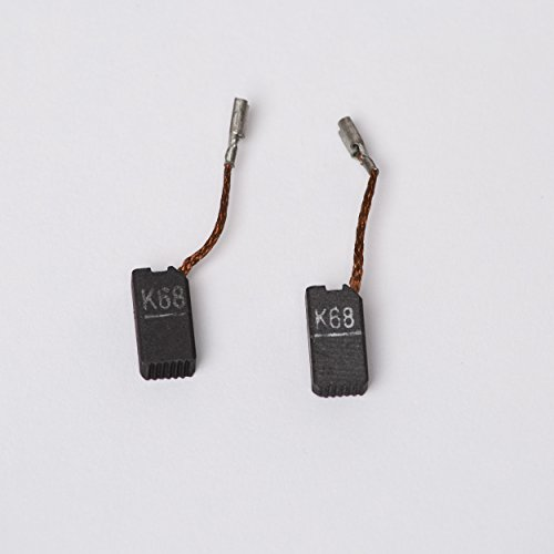 Original Ersatzkohlen Kohlebürsten für Flex PE 14-2 150 und PE 14-3 125 und XC 3401 2 ST = 1 Satz