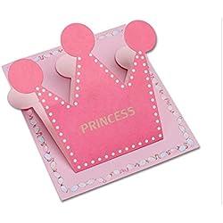 Grußkarte 1 Pc Princess Prince Geburtstagsparty Grußkarte Wishing Holiday Geschenkkarte (Prinzessin) Jahrestagskarte