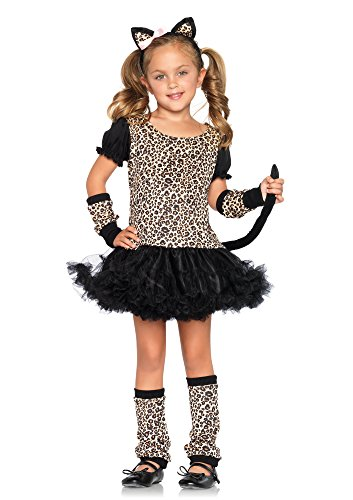 Leg Avenue C48129 - Kleiner Kostüm, Größe L, Leopard (Wildkatze Leopard Kostüm)