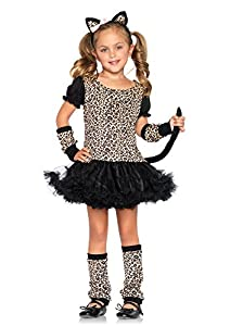 Leg Avenue C4812903153 - Disfraz de leopardo para niña, talla L