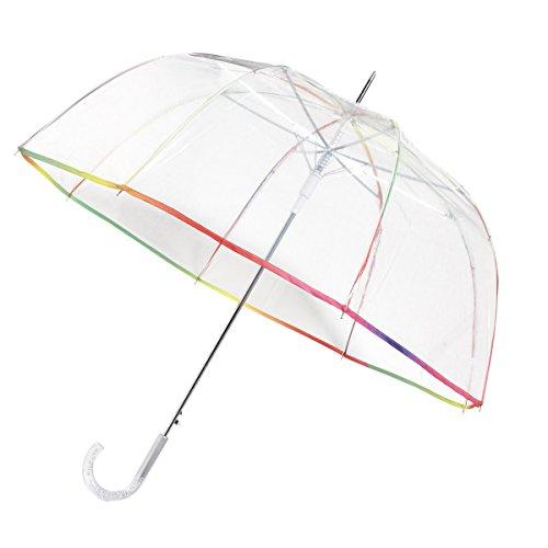 Le Monde du Parapluie Paragua clásico, transparente (Transparente) - NEYRAT802CLOCHE Le Monde du Parapluie