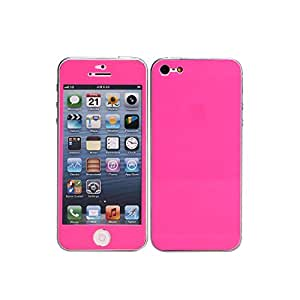 Film autocollant rose pour iPhone 5 / 5S