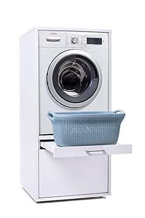 Waschturm, Mobile per lavatrice con spazio per riporre gli ...