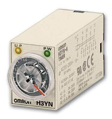 H3YN-2 AC100-120   671716   OMRON TIMER, PLUG-IN, 8-PIN, MULTIFUNKTION, 0,1S-10M Omron Plug-in