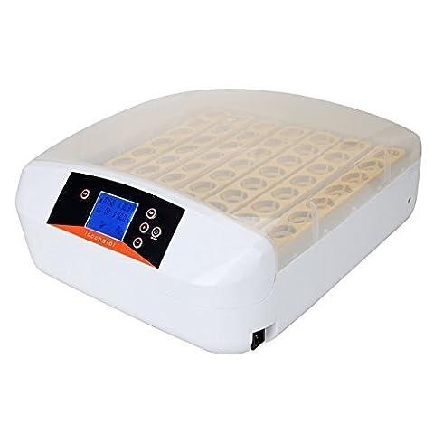 Iglobalbuy 56 Digital Chicken Egg Incubator Hatcher Supply Fully Automatic Egg Turning Temperature